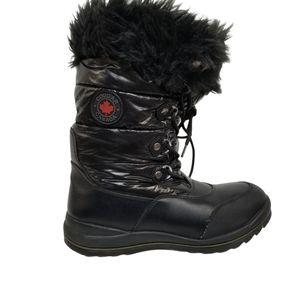 Cougar Canada Cranbrook Black Snow Boots 11